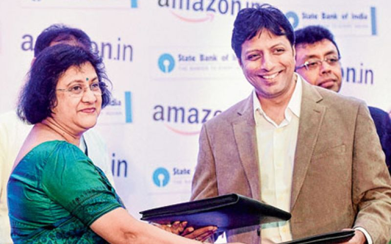 SBI Ties Up With Amazon