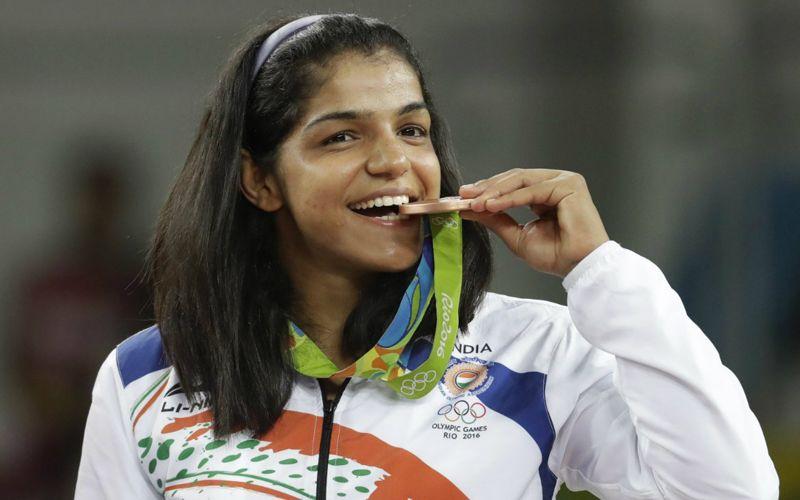 Sakshi Malik Seals Bronze Medal In Women's Wrestling