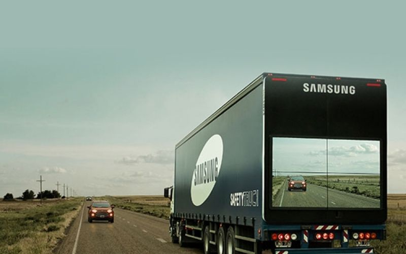Samsung 'Safety Truck' Aims to Make the Roads Safer