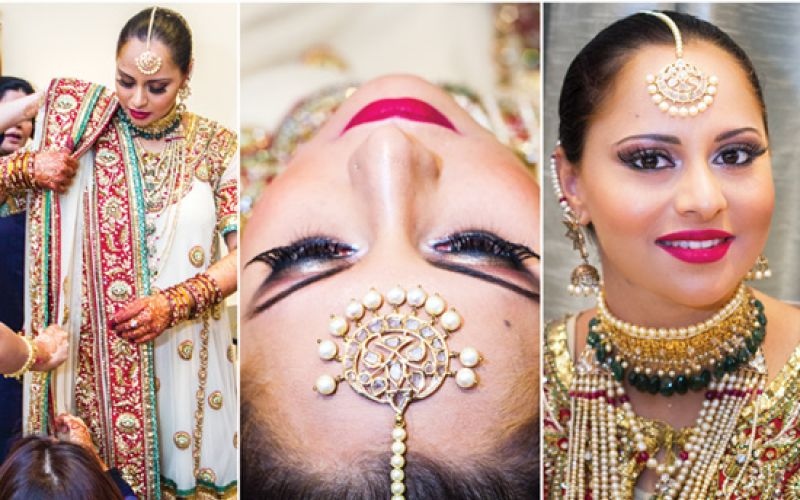 Sandy is a well-known makeup artist in Hyderabad