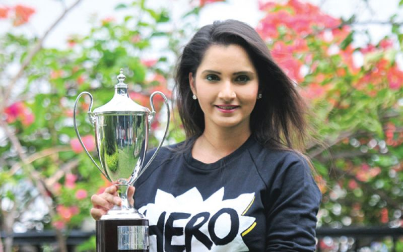 Sania Mirza and Martina Hingis won women's doubles title at Wimbledon