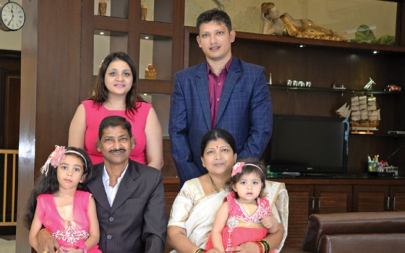 Santosh Kumar lives in a duplex in Sindhi Colony, Secunderabad