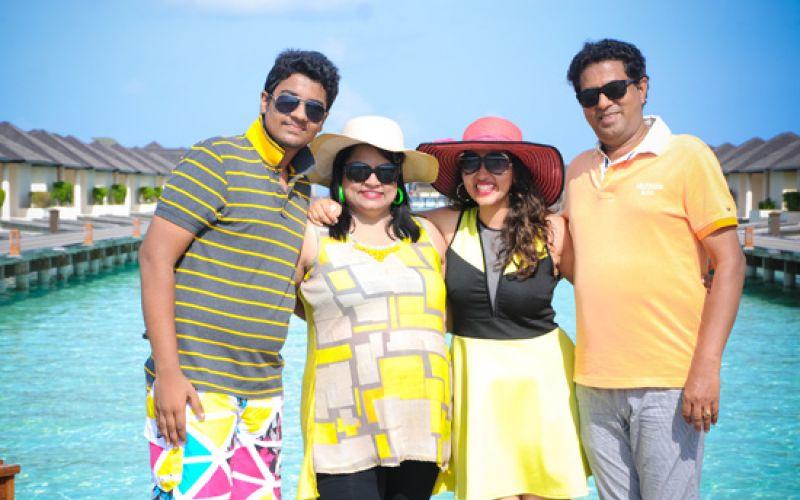 Sashi Nahata trip to Maldives
