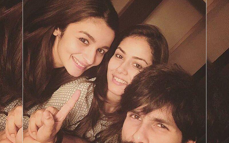 Alia Bhatt goes to visit Shahid and Mira's baby, Misha Kapur