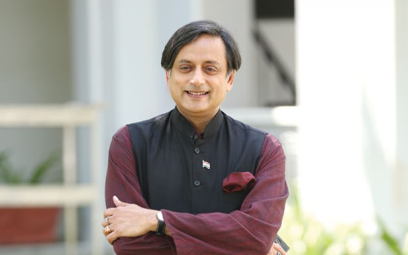 Author, politician and former international civil servant – Shashi Tharoor