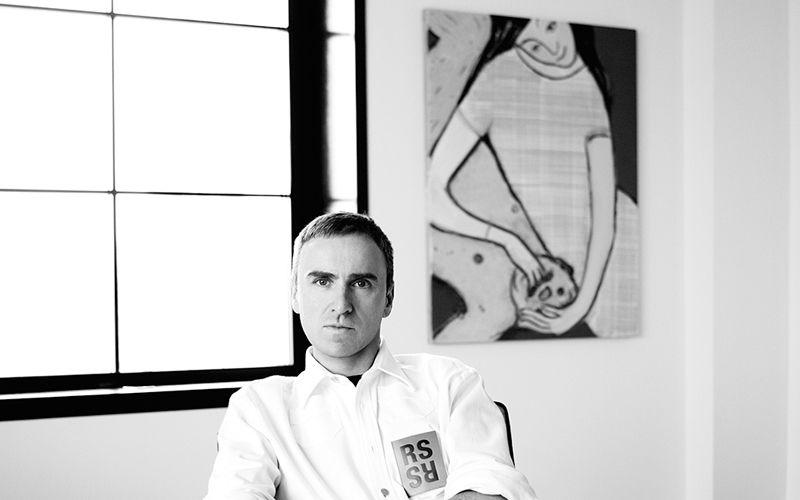 Calvin Klein Names Raf Simons as Creative Chief