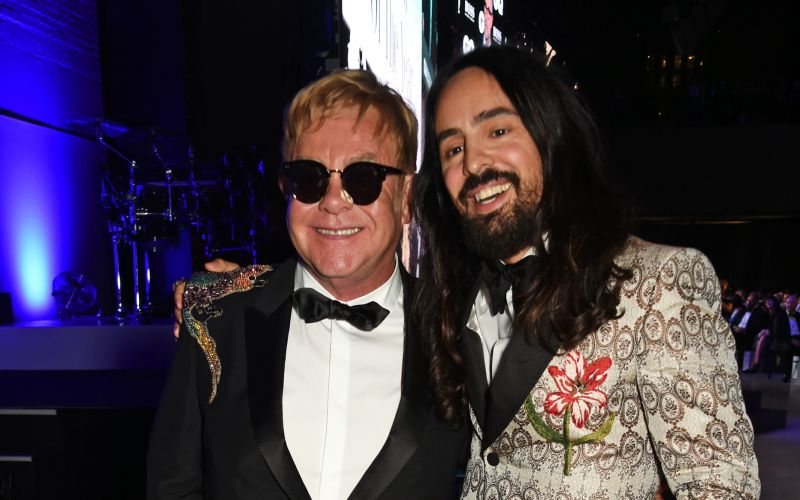 Alessandro Michele received the British GQ Designer of the Year Award 2016