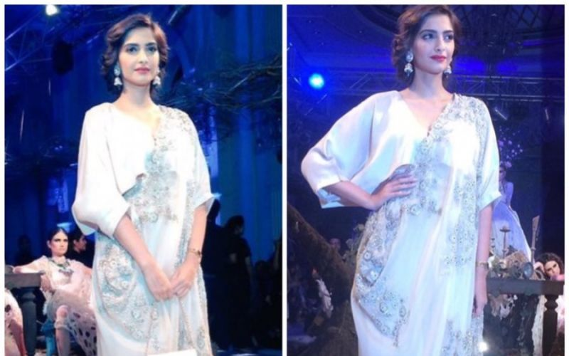 Sonam Kapoor looks stunning in Anamika Khanna at ICW2016 and Ralph Russo at Cannes