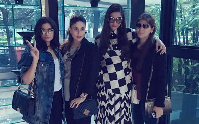 These Kapoor girls pout and pose on an afternoon In Mumbai