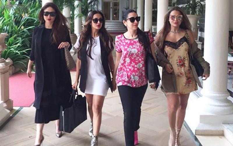 Kareena Kapoor Khan, Karishma Kapoor, Malaika Arora Khan and Amrita Arora give us major #squadgoals.