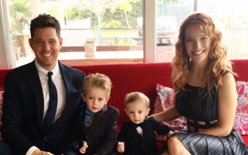 Michael Buble's son diagnosed with liver cancer