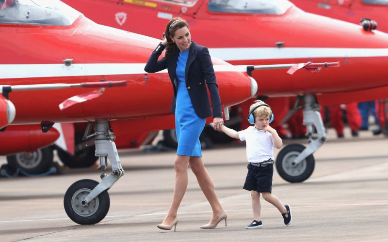 Prince George is already a King at melting hearts
