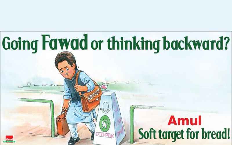 Amul's witty ad about India-Pakistan tensions