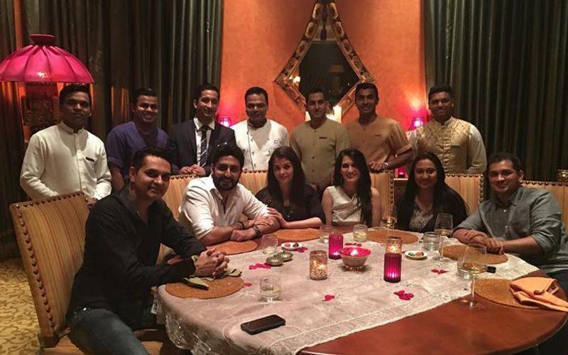 Aishwarya Rai and Abhishek Bachchan vacation in Dubai