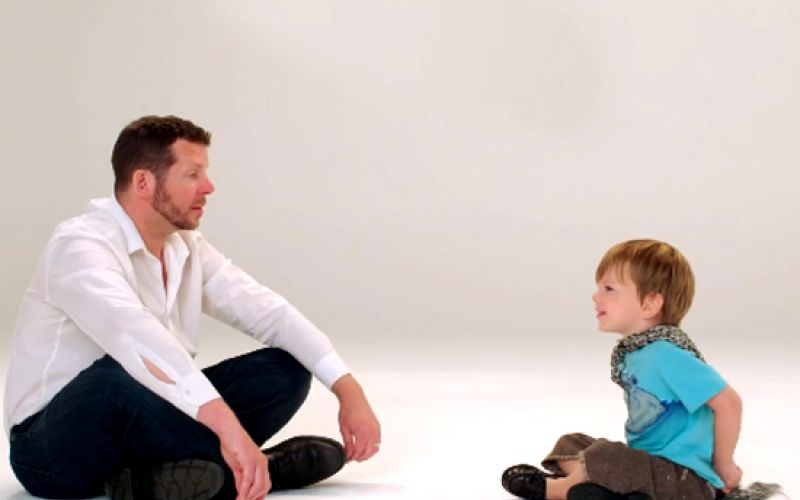 Watch This Touching Video Of Father-Child Bonds