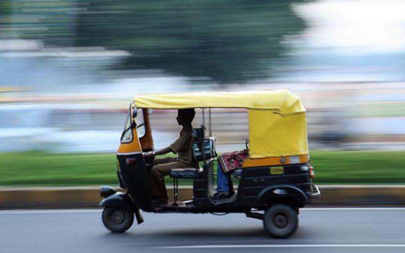 Uber Launches Cash-Only Rickshaw Service In Delhi