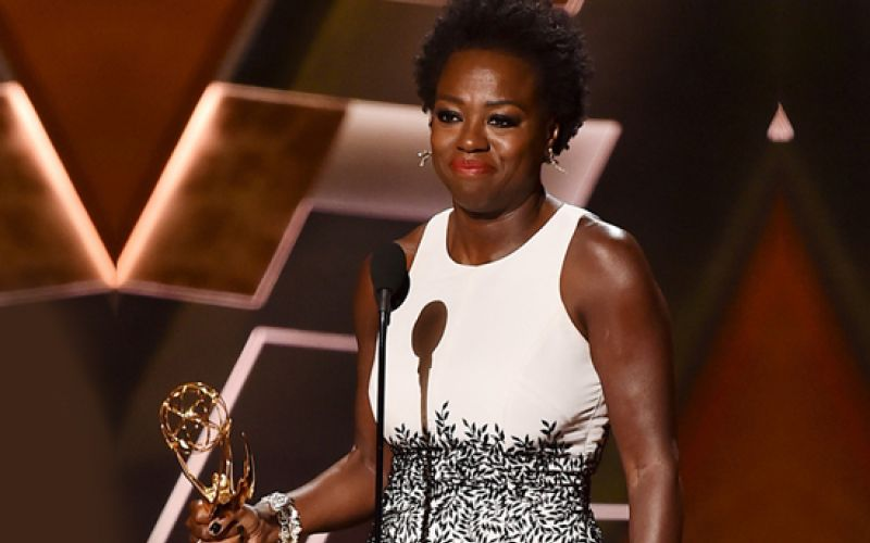 Viola Davis won the Emmy Award