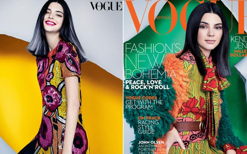 : Kendall Jenner is on the latest Vogue Australia cover and looks stunning