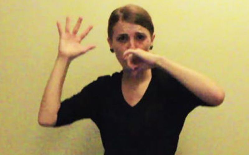 Watch A Woman Perform Eminem's Entire 'Lose Yourself' In ASL