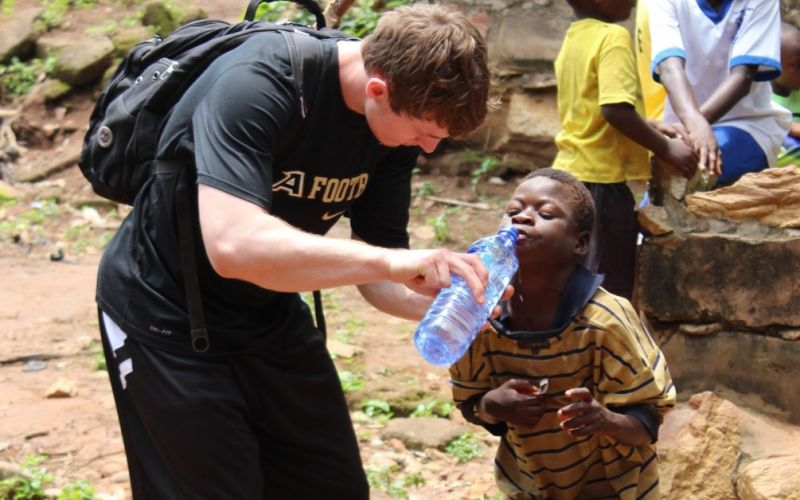 American giant provides safe drinking water to a remote Indian village