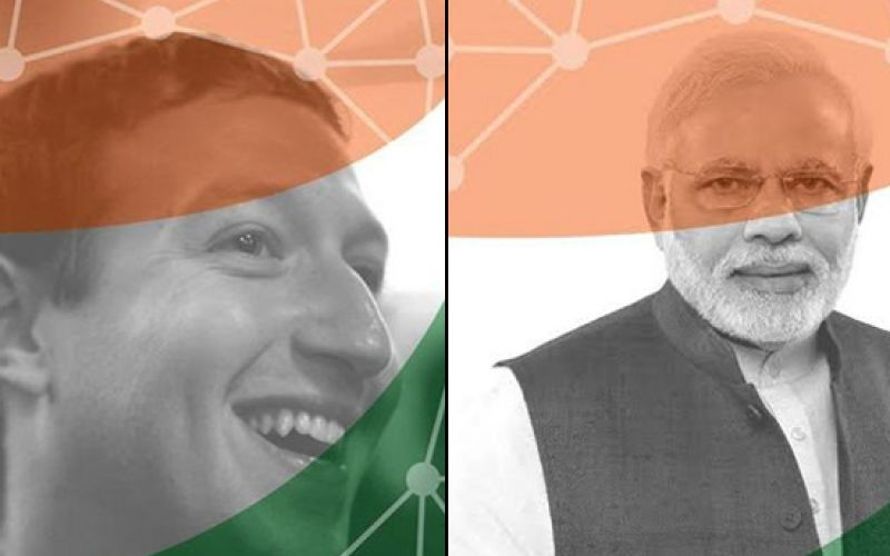 Zuckerberg Changes Profile Picture To Support Digital India