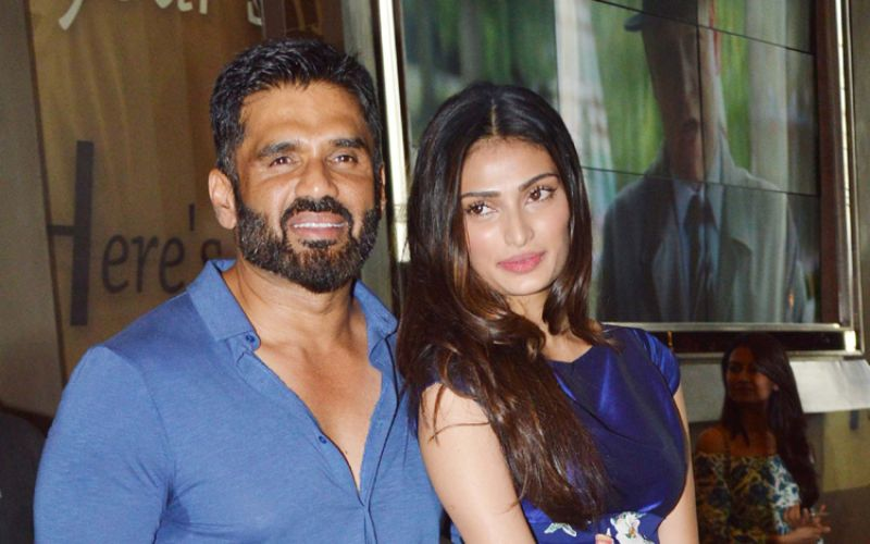 Athiya 'would love' to work with father Suneil Shetty