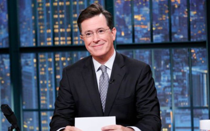 "The debut of ""The Late Show with Stephen Colbert"