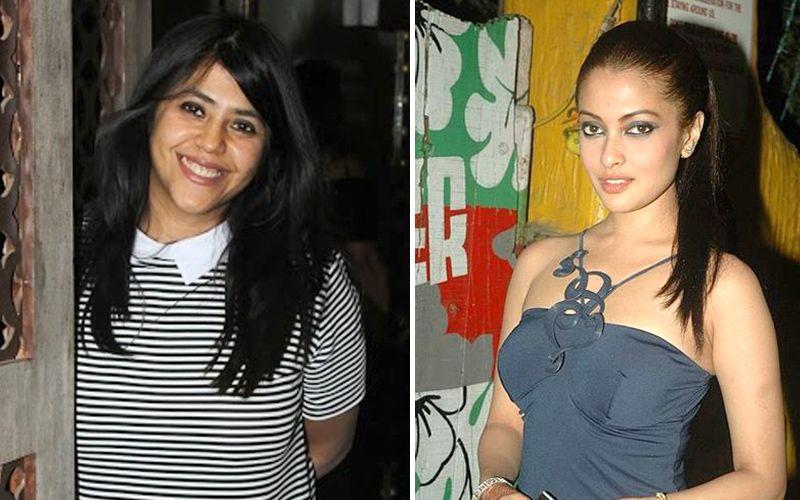 Ekta Kapoor and Riya Sen