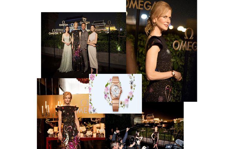 OMEGA celebrates the legacy of women's watches with brand ambassador Nicole Kidman