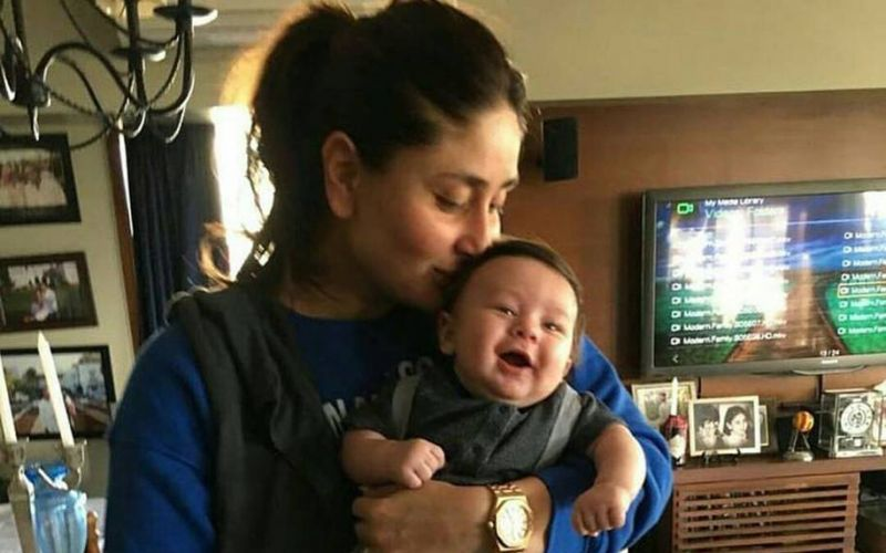 Kareena Kapoor Khan With Her Bundle Of Joy Taimur Ali Khan