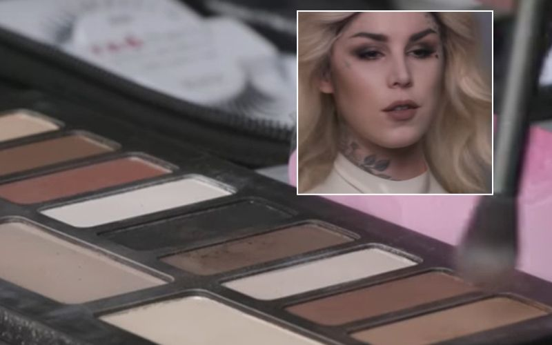 Kat Von D's cosmetic