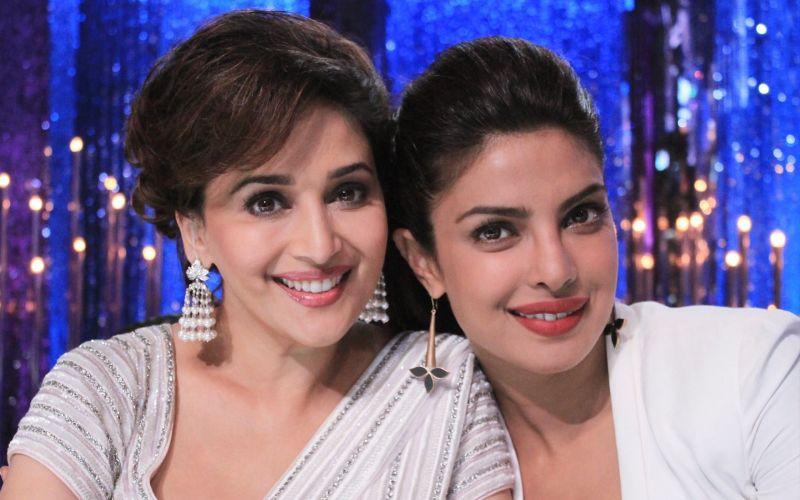 Priyanka Chopra To Produce A Television Series On Madhuri Dixit Nene
