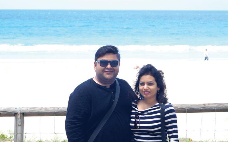 newlyweds-Suma-and-Urvash-OZ