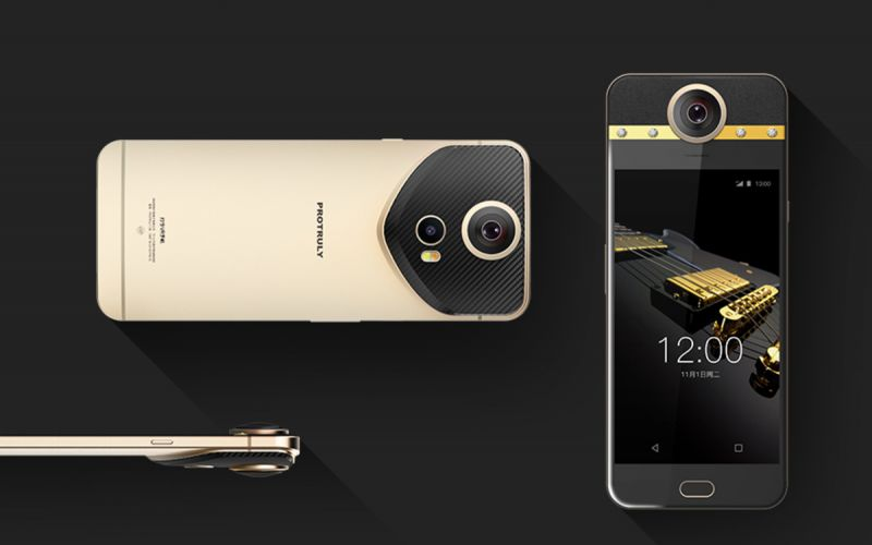ProTruly's Darling Smartphone: 360 Degree Camera With Embedded Diamonds