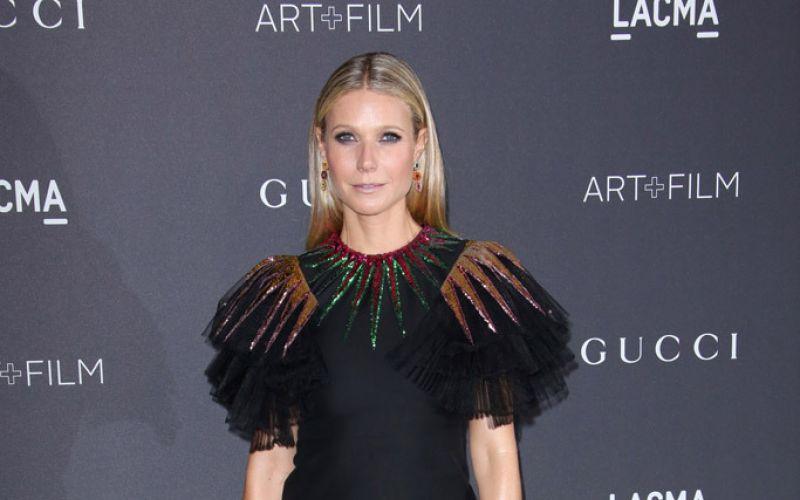 Gwyneth Paltrow wears Gucci in Madrid