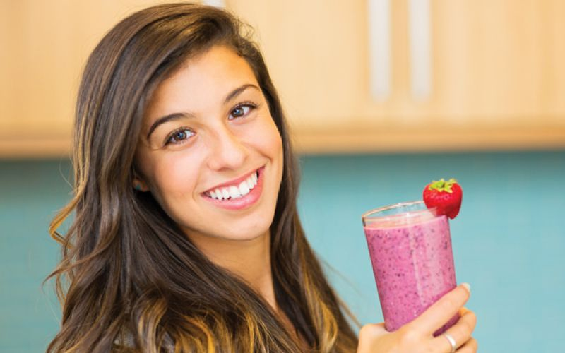 Smoothie is one of the hallmarks of a health-conscious diet