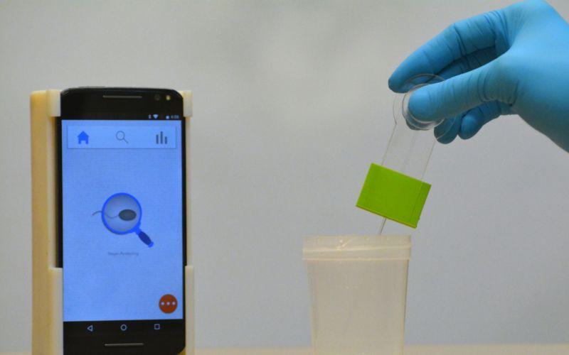 A Smart Phone App Allows Men To Test Their Fertility
